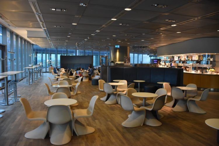 Lufthansa Business Lounge Frankfurt B24-B28