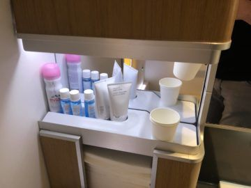 lufthansa first class boeing 747 8i amenities