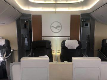 lufthansa first class boeing 747 8i first class doppelsitze