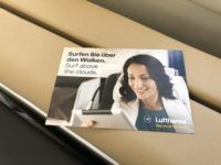lufthansa first class boeing 747 8i free wifi voucher