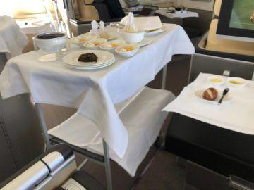 lufthansa first class boeing 747 8i servierwagen