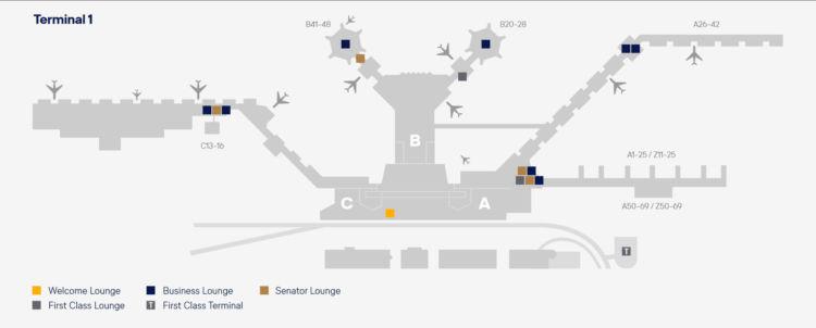 lufthansa lounges frankfurt lageplan terminal 1