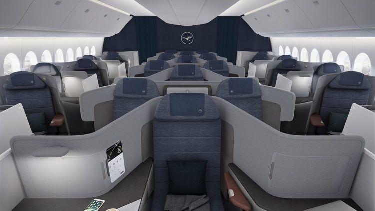 lufthansa neue business class 777 9