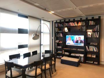 lufthansa panorama lounge frankfurt a26 bibliothek