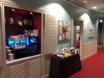 lufthansa panorama lounge frankfurt a26 kaffee tee kuchen