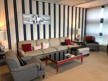 lufthansa panorama lounge frankfurt a26 sofa