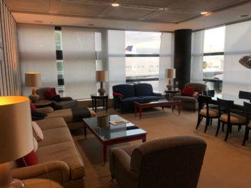lufthansa panorama lounge frankfurt a26 wohnzimmer