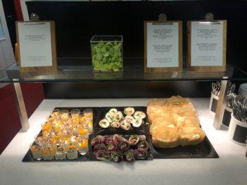 lufthansa panorama lounge frankfurt a26 wraps sandwich
