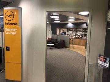lufthansa senator lounge bremen eingangsbereich
