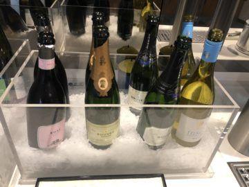 lufthansa senator lounge frankfurt a champagner
