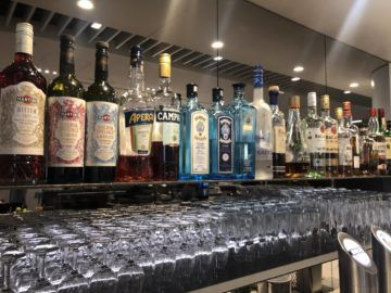 lufthansa senator lounge frankfurt a hochprozentiger alkohol
