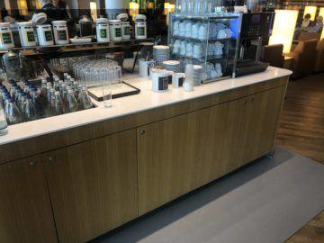 lufthansa senator lounge frankfurt a kaffeemaschine teeauswahl