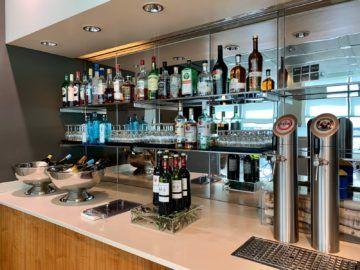 lufthansa senator lounge frankfurt c16 buffet getraenke