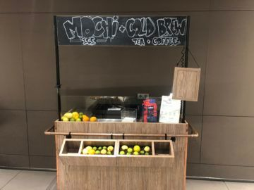 lufthansa senator lounge muenchen g24 smoothie bar
