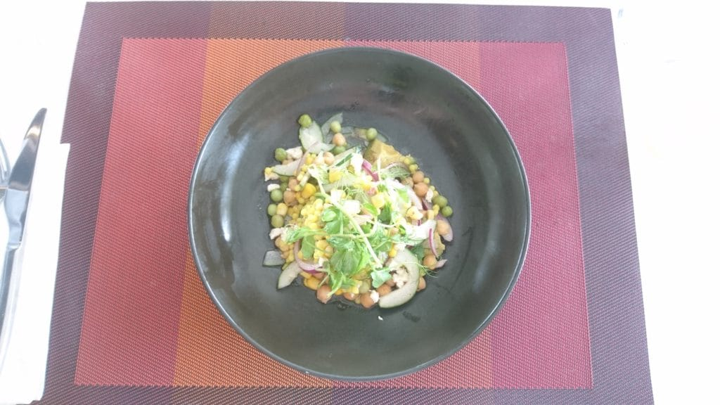 Couscous Salat zum Lunch
