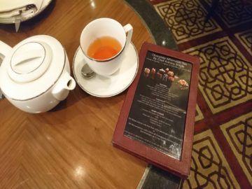 mandarin oriental afternoon tea menu