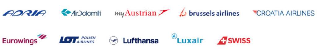 Miles & More Select Meilen sammelt man nur auf Flügen mit den vollintegrierten Miles & More Airlines