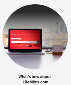 neue lifemiles website beitragsbild