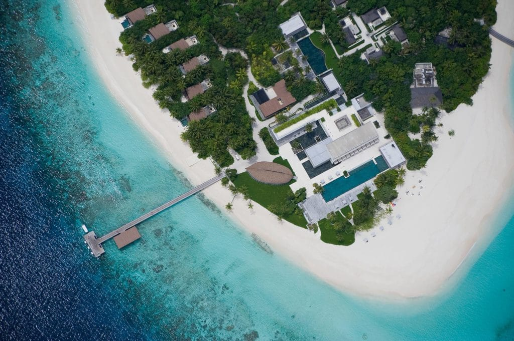 Das Park Hyatt Maldives Hadahaa kostet 30.000 Punkte pro Nacht © Hyatt