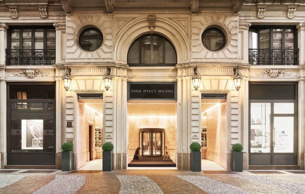 Das Park Hyatt Mailand kostet 30.000 Punkte pro Nacht © Hyatt
