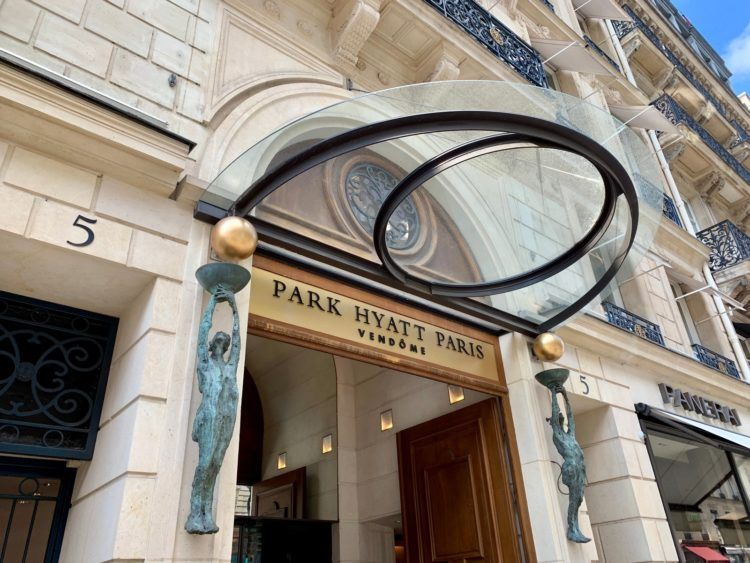 park hyatt paris vendome eingang