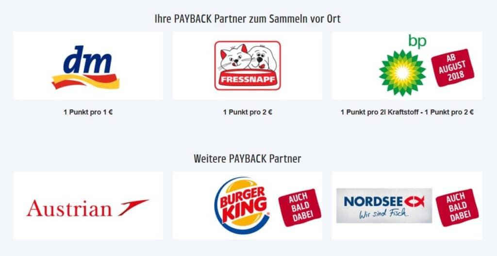Partner von Payback Österreich &copy payback.at