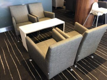 qantas business lounge auckland sessel