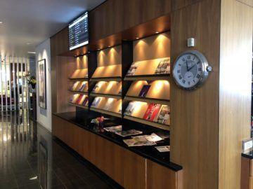 qantas business lounge auckland zeitschriften