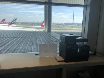 qantas international business lounge sydney drucker