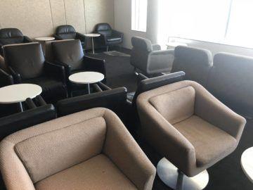 qantas international business lounge sydney sessel hinterer bereich