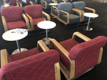 qantas international business lounge sydney sitzmoeglichkeiten