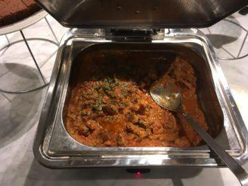 qantas london lounge londonheathrow chicken massala