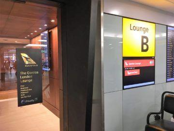 qantas london lounge londonheathrow eingangsbereich