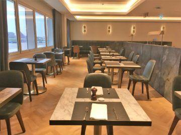 qantas london lounge londonheathrow essbereich erdgeschoss