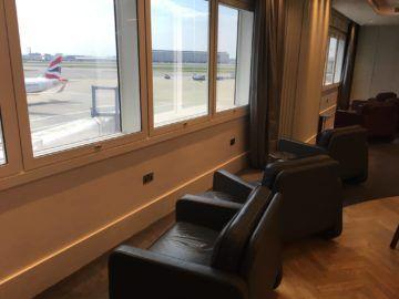 qantas london lounge londonheathrow sessel aussicht