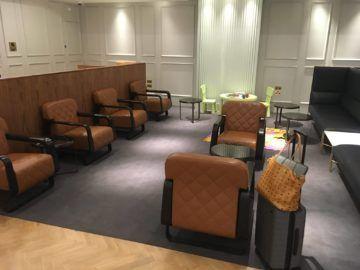 qantas london lounge londonheathrow sitzbereich und kids area