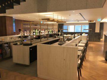 qantas london lounge londonheathrow sitzbereich erdgeschoss