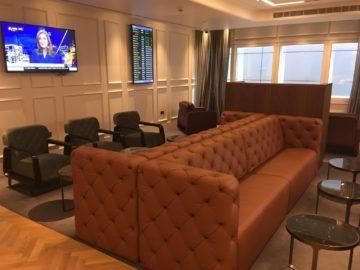 qantas london lounge londonheathrow sitzcouch