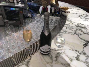 qantas london lounge londonheathrow sparklingwine
