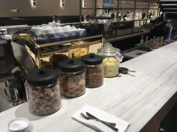 qantas london lounge londonheathrow sweets