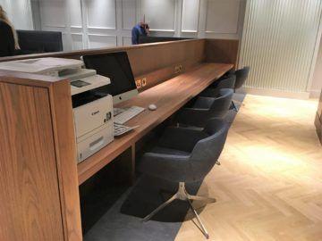 qantas london lounge londonheathrow arbeitsbereich