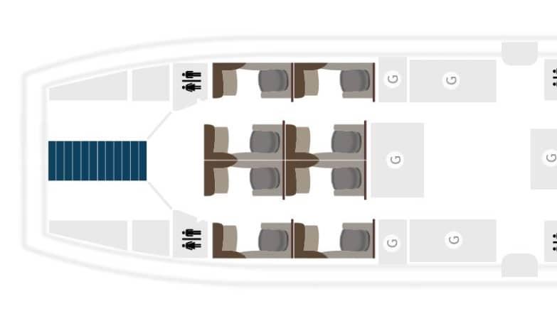 qatar airways a380 seatmap