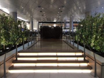 qatar airways al mourjan business class lounge mitte der lounge