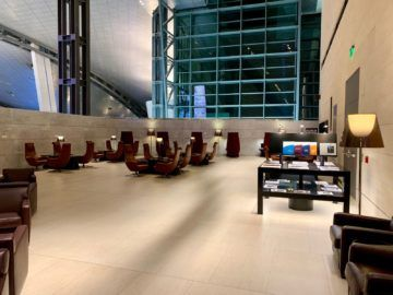 qatar airways al safwa first class lounge doha aussenbereich 2