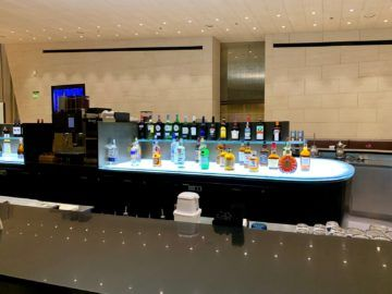 qatar airways al safwa first class lounge doha bar 2