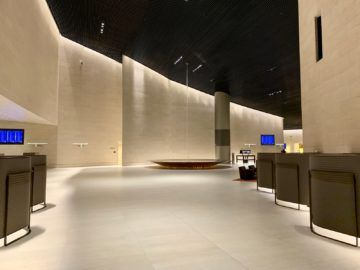 qatar airways al safwa first class lounge doha lobby 3