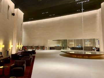 qatar airways al safwa first class lounge doha lobby 5