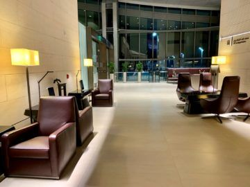 qatar airways al safwa first class lounge doha sitzgelegenheiten