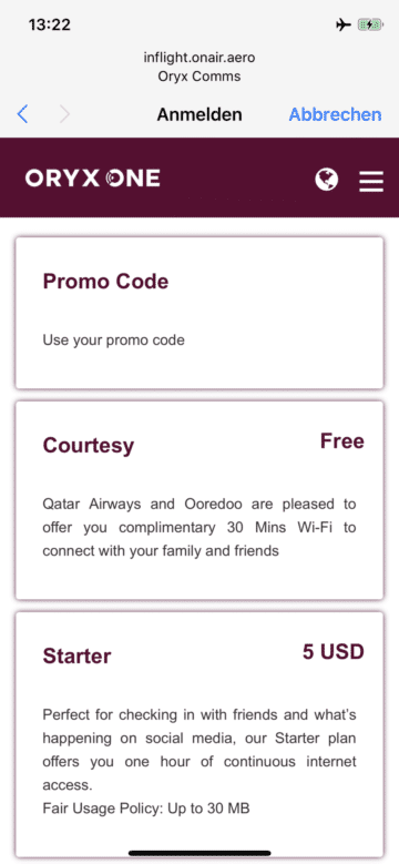 qatar airways business class a380 internet kosten