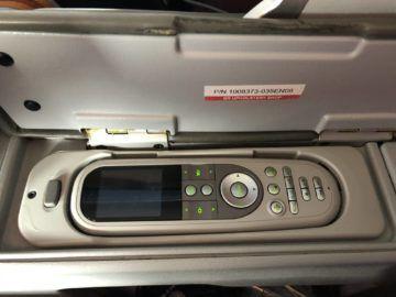 qatar airways business class boeing 777 200lr controller monitor